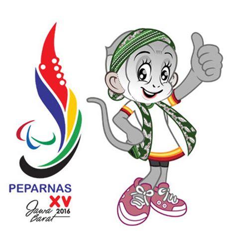 Logo Jawa Barat Bordir logo dan maskot pon peparnas jawa barat