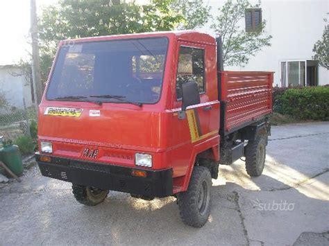 motoagricola 4x4 cabinata mariniello generosa usato in vendita agriaffare