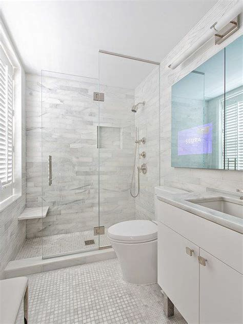 Pictures Of Small Modern Bathrooms by Best 20 Small Bathroom Layout Ideas On Modern