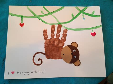 monkey craft print monkey s day craft design