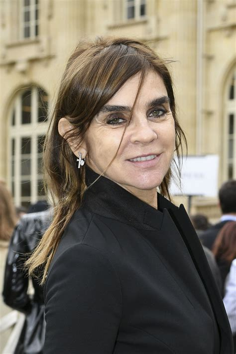 Carine Roitfeld by Carine Roitfeld At Moncler Fashion Show In 03 07