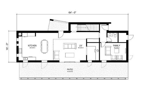 container home floor plan iq hause christopher bord free small affordable house plans houseplan houses