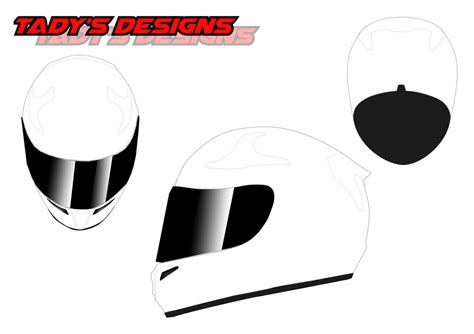 helmet design template download templates tady s designs
