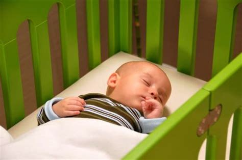 when should babies sleep in their own room new center