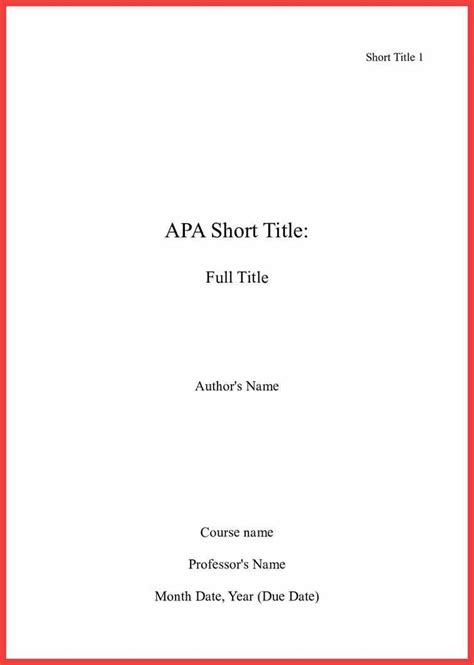 Apa Format Essay Title Page by Apa Title Page Format 2016 Memo Exle