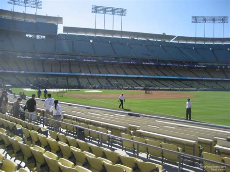 what is section 42 dodger stadium section 42 rateyourseats com