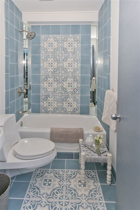 blue bathroom tile ideas bathroom tile ideas in blue and white 2017 2018 best