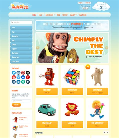 shopify themes toys 9 of the best shopify themes for toys games down