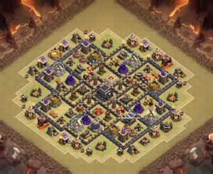 Clash of clans th9 war base coc war base th9