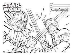 free coloring pages star wars leia