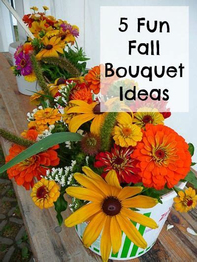 make your own fall decorations 5 fall bouquet ideas flower shops beautiful and