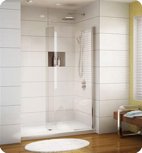 Shower Shield by Fleurco Estc34 11 40 Banyo Siena Semi Frameless
