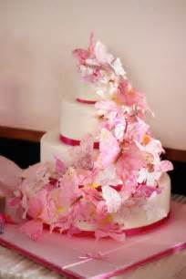 cake decorations wedding cakes pictures butterfly wedding cake decorations