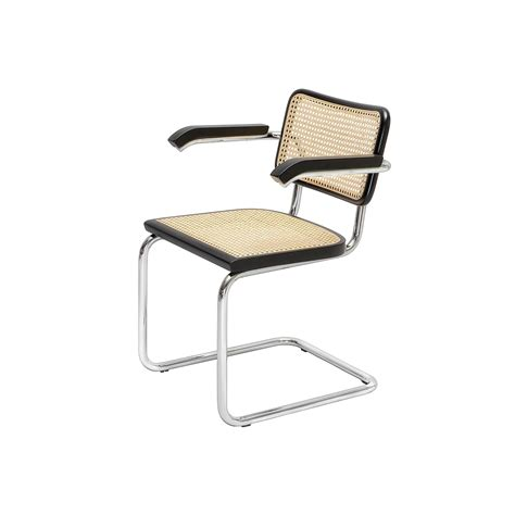 cesca armchair cesca chair b 64 designed by marcel breuer steelform