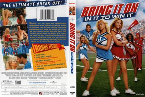 Dvd Bring It On bring it on in it to win it widescreen dvd scanned covers bring it on in it to win
