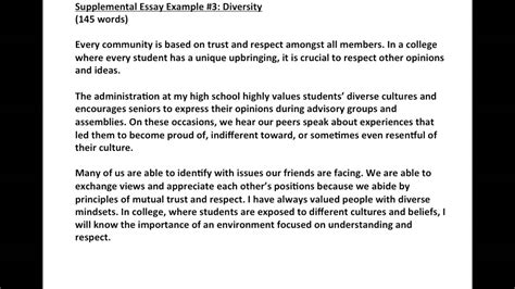 diversity essays for college sle writing effective college essays supplemental essay