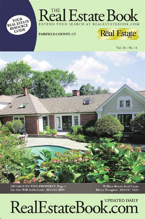 the real estate book of fairfield county by colorhaus