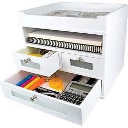 White Desk Organizer Victor 174 Wood Desk Organizer Tidy Tower White Staples 174