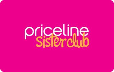 Priceline Gift Card - create new customer account