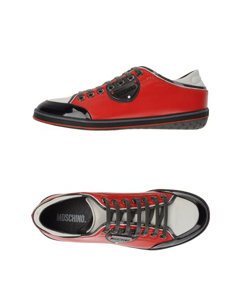 moschino sneakers mens moschino sneakers in for lyst