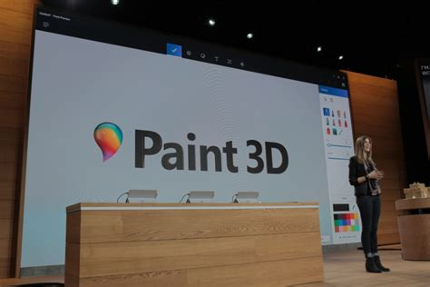 paint 3d help this is microsoft s paint 3d for the windows 10 creator s update techcrunch