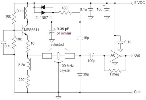 variable inductor oscillator best electronic kit vhf oscillators for overtone crystals