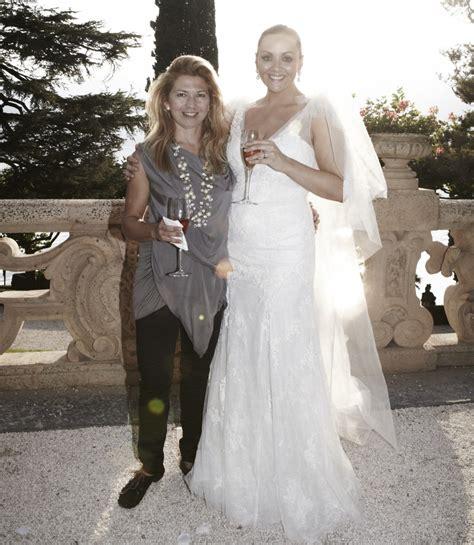 Dress Martine martine mccutcheon s wedding on lake como a true fairytale