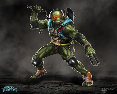 Tnmt Turtles 23 Tx by Original Concept For Tmnt Mikey Mutant