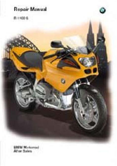 Bmw Motorrad Modelle 1999 by Bmw 1999 2002 R1100s Repair Manual Cd Rom