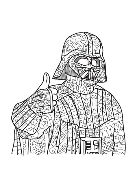 coloring books for adults wars darth vader wars coloring page coloring