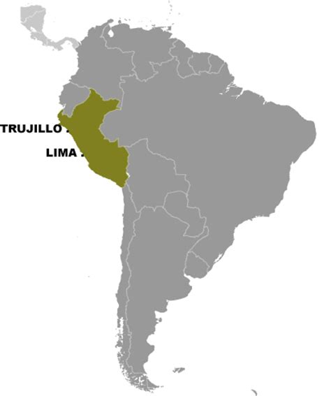 where is lima peru located on a world map lima world map factsofbelgium