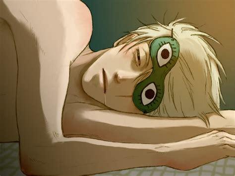Sleep Mask Kakashi kakashi is sleeping by marinelleuh on deviantart