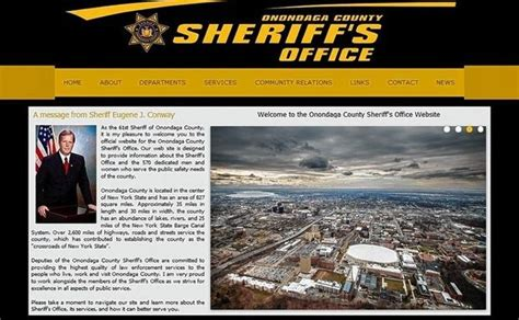 Onondaga County Sheriff Arrest Records Oswego County Sheriffs Office Ny Autos Post