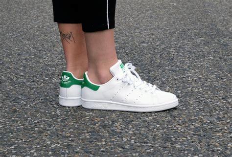 adidas stan smith footwear white core white green