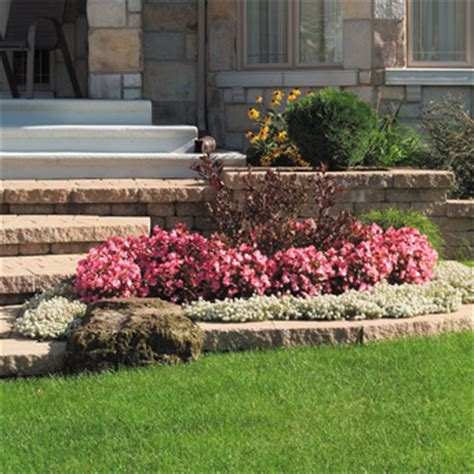 Landscape Edging Rona Slabs Blocks And Pavers Buyer S Guides Rona Rona