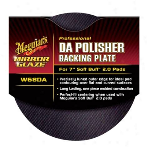 Meguiars Profesional Mirror Glazze Dual Cleaner Dan counterweight for porter cable 7424 polisher the your auto world dot