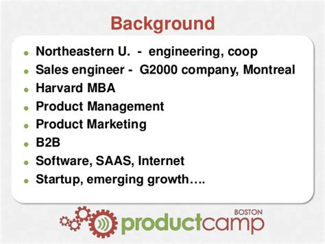 Boston Scientific Mba Marketing Manager by Product Marketing Moving The Needle Productc Boston 2016