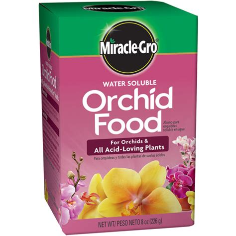 miracle gro water soluble orchid food 8 oz walmart com