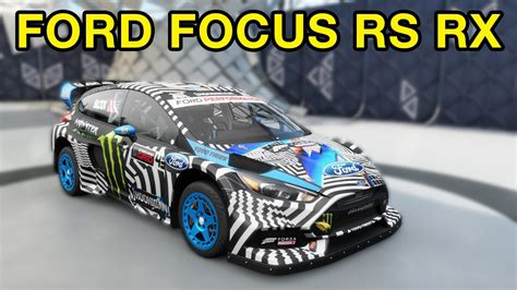 Ford Focus Rs Rx For Sale by How To Unlock The Ford Focus Rs Rx Forza Horizon 3