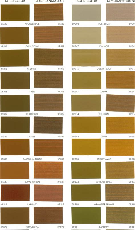 behr semi transparent deck stain color chart studio design gallery best design