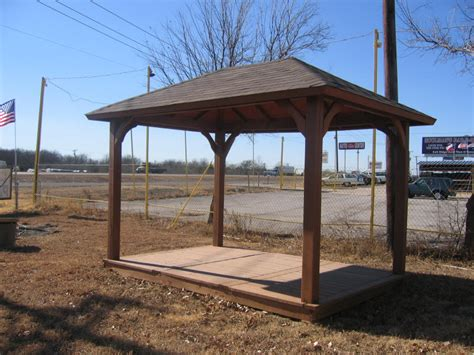 Hip Roof Pavilion Standard With Our Hip Roof Pavilions Is 4 6x6 Posts