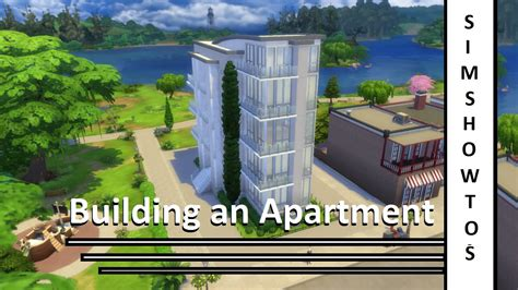 Sims 2 Apartment Zoning The Sims 4 Apartment Building Simshowtos