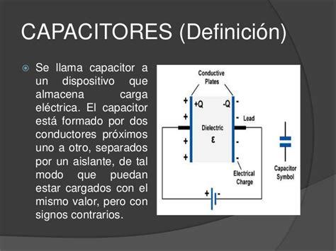 capacitor no polarizado definicion con