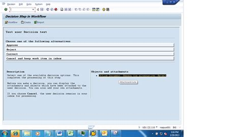 sap workflow user decision exle sap workflow decision task new capability to add notes