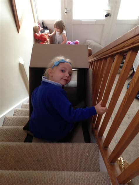 how to make cool boxes cardboard box tunnel slide here come the