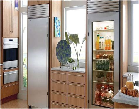 25 best ideas about glass front refrigerator on