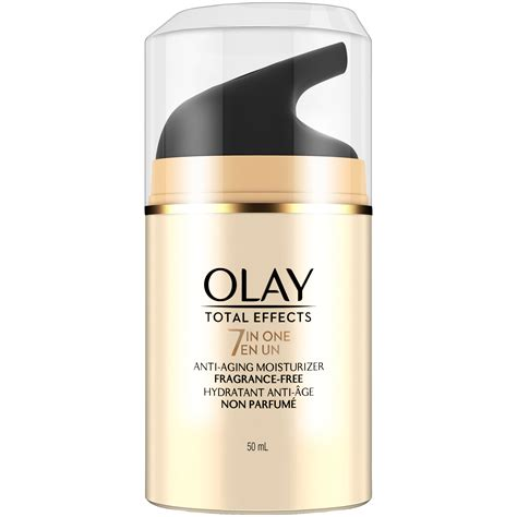 Malam Olay Total Effect olay total effects anti aging moisturizer fragrance free 1 7 fl oz skin care