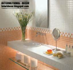 Bathroom Wall Tiles Design Latest Orange Wall Tile Designs Ideas For Modern Bathroom