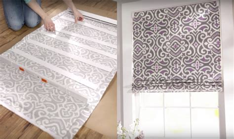 Blinds Diy How To Turn Mini Blinds Into Pretty Roman Shades Home
