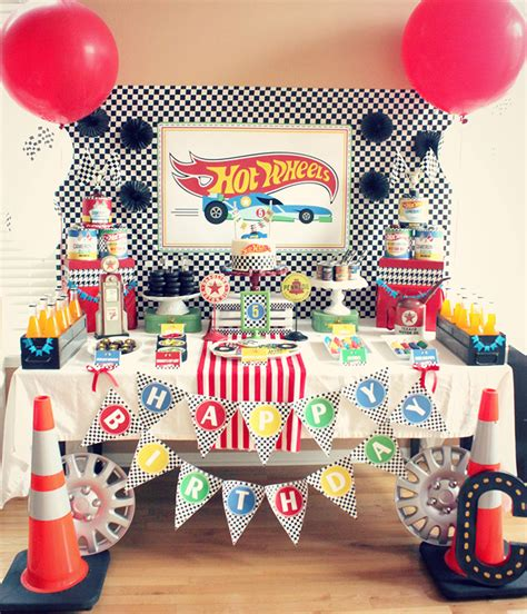 hot birthday themes real party hot wheels party with the party porch party